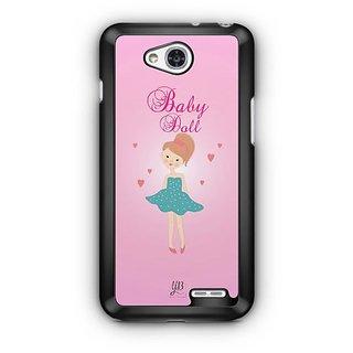 YuBingo Baby Doll Designer Mobile Case Back Cover for LG L90