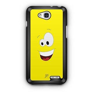YuBingo Amazed Smiley Designer Mobile Case Back Cover for LG L90