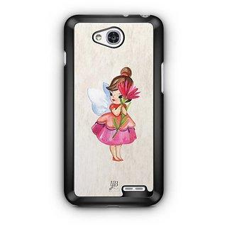 YuBingo Loving Fairy Designer Mobile Case Back Cover for LG L90