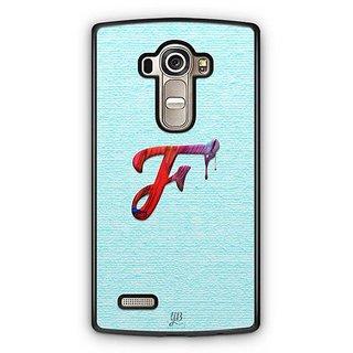 YuBingo Monogram with Beautifully Written Paint Finish letter F Designer Mobile Case Back Cover for LG G4