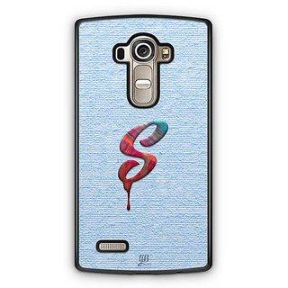 YuBingo Monogram with Beautifully Written Paint Finish letter S Designer Mobile Case Back Cover for LG G4