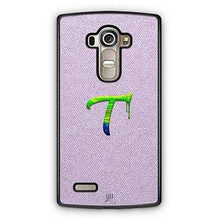 YuBingo Monogram with Beautifully Written Paint Finish letter T Designer Mobile Case Back Cover for LG G4