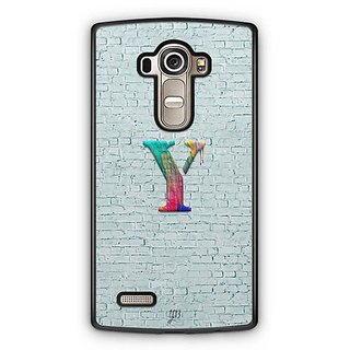 YuBingo Monogram with Beautifully Written Paint Finish letter Y Designer Mobile Case Back Cover for LG G4