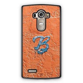 YuBingo Monogram with Beautifully Written Funky Colourful Paint Finish letter B Designer Mobile Case Back Cover for LG G4