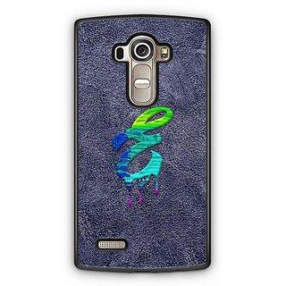 YuBingo Monogram with Beautifully Written Funky Colourful Paint Finish letter E Designer Mobile Case Back Cover for LG G4