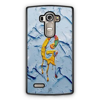 YuBingo Monogram with Beautifully Written Funky Colourful Paint Finish letter G Designer Mobile Case Back Cover for LG G4