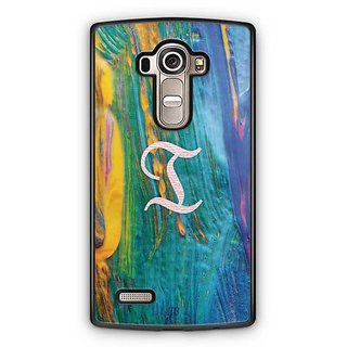 YuBingo Monogram with Beautifully Written Funky Colourful Paint Finish letter I Designer Mobile Case Back Cover for LG G4