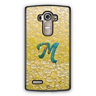 YuBingo Monogram with Beautifully Written Funky Colourful Paint Finish letter M Designer Mobile Case Back Cover for LG G4