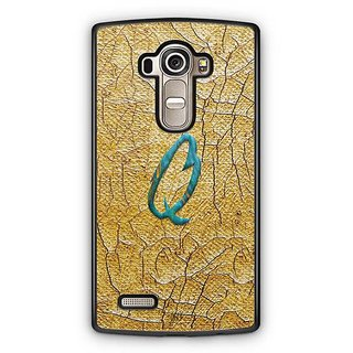 YuBingo Monogram with Beautifully Written Funky Colourful Paint Finish letter Q Designer Mobile Case Back Cover for LG G4