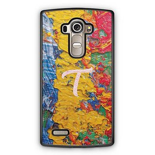 YuBingo Monogram with Beautifully Written Funky Colourful Paint Finish letter T Designer Mobile Case Back Cover for LG G4