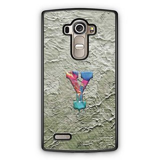 YuBingo Monogram with Beautifully Written Funky Colourful Paint Finish letter Y Designer Mobile Case Back Cover for LG G4