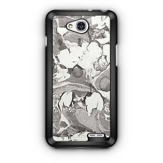 YuBingo Marble Finish (Plastic) Designer Mobile Case Back Cover for LG L90