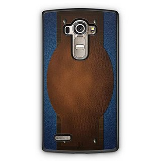 YuBingo Jeans and Leather Finish (Plastic) Designer Mobile Case Back Cover for LG G4
