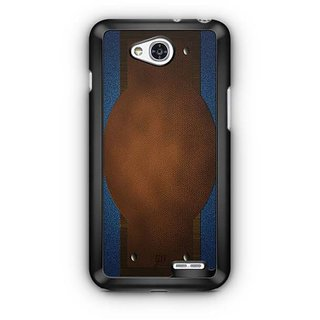 YuBingo Jeans and Leather Finish (Plastic) Designer Mobile Case Back Cover for LG L90