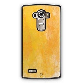 YuBingo Funky Yellow Designer Mobile Case Back Cover for LG G4