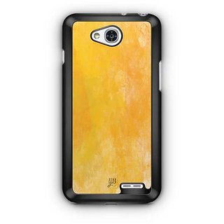 YuBingo Funky Yellow Designer Mobile Case Back Cover for LG L90