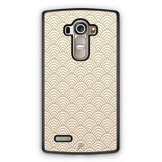 YuBingo Semi Circle Pattern Designer Mobile Case Back Cover for LG G4