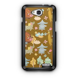 YuBingo Animals and Birds Designer Mobile Case Back Cover for LG L90
