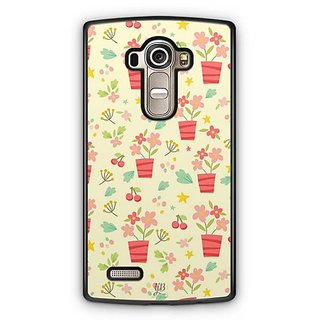 YuBingo Flowers with Vase Designer Mobile Case Back Cover for LG G4