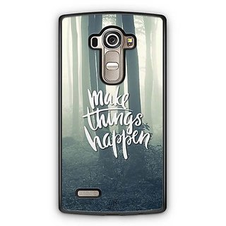 YuBingo Make Things Happen Designer Mobile Case Back Cover for LG G4