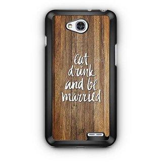 YuBingo Eat, Drink and be Married Designer Mobile Case Back Cover for LG L90