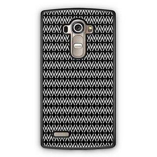 YuBingo Black Pattern Designer Mobile Case Back Cover for LG G4