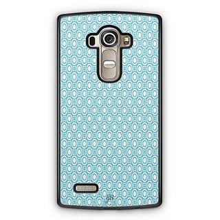 YuBingo Blue circles Pattern Designer Mobile Case Back Cover for LG G4