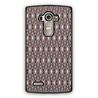 YuBingo Brown Rhombus Pattern Designer Mobile Case Back Cover for LG G4