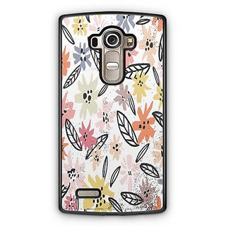 YuBingo Multi colour flowers pattern Designer Mobile Case Back Cover for LG G4