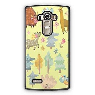 YuBingo Animals, Birds and trees pattern Designer Mobile Case Back Cover for LG G4