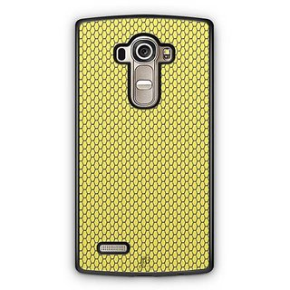 YuBingo Yellow hexagon pattern Designer Mobile Case Back Cover for LG G4