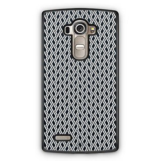 YuBingo Black and white maze pattern Designer Mobile Case Back Cover for LG G4