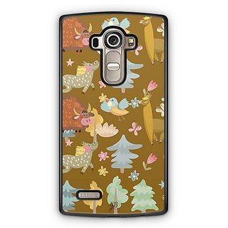 YuBingo Animals, birds and Trees Designer Mobile Case Back Cover for LG G4