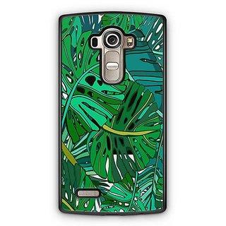YuBingo Tropical leaves pattern Designer Mobile Case Back Cover for LG G4