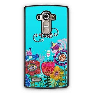 YuBingo Love and flowers Designer Mobile Case Back Cover for LG G4