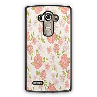 YuBingo Rose and leaf pattern Designer Mobile Case Back Cover for LG G4