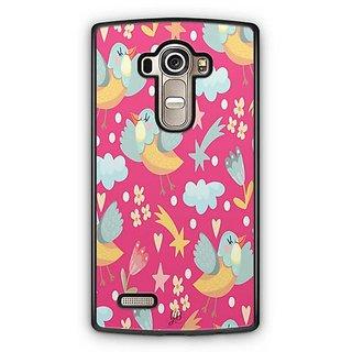 YuBingo Bird and star pattern Designer Mobile Case Back Cover for LG G4
