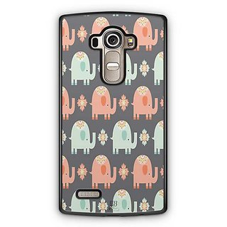 YuBingo Elephant pattern Designer Mobile Case Back Cover for LG G4