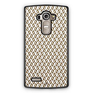YuBingo Brown triangle pattern Designer Mobile Case Back Cover for LG G4
