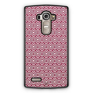 YuBingo Red circles pattern Designer Mobile Case Back Cover for LG G4
