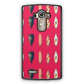 YuBingo Beautiful feathers Designer Mobile Case Back Cover for LG G4