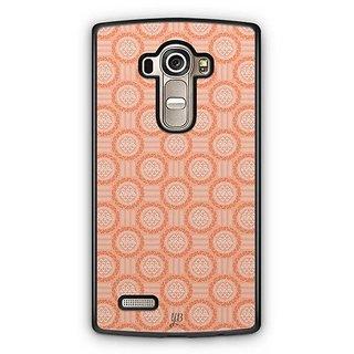 YuBingo Orange circles Designer Mobile Case Back Cover for LG G4