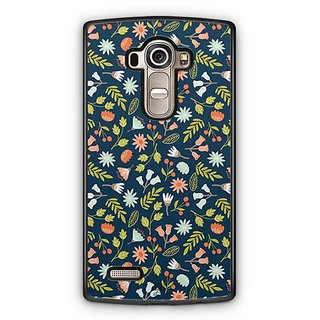 YuBingo Flowers and leaves pattern Designer Mobile Case Back Cover for LG G4