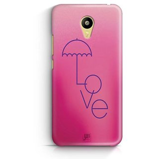 YuBingo Love Umbrella Designer Mobile Case Back Cover for Meizu M3