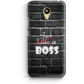 YuBingo I am a Boss Designer Mobile Case Back Cover for Meizu M3