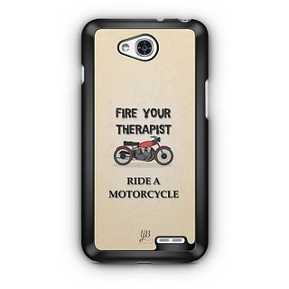 YuBingo Ride A Motorcycle Designer Mobile Case Back Cover for LG L90