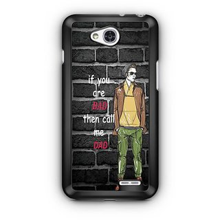 YuBingo Call me Dad Designer Mobile Case Back Cover for LG L90
