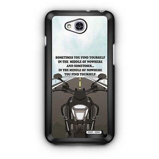YuBingo Find Yourself Designer Mobile Case Back Cover for LG L90