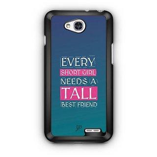 YuBingo Girl Needs a Best Friend Designer Mobile Case Back Cover for LG L90