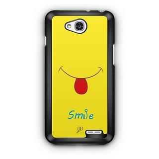 YuBingo Smile Please Designer Mobile Case Back Cover for LG L90